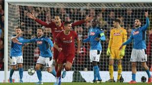 Liverpool 1-1 Napoli (Maç sonucu)