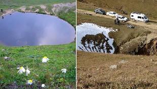 Definecilere ''Dipsiz Göl'ü kaybettik'' düzenlemesi