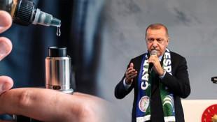 Erdoğan'ın yatırım izni vermediği elektronik sigarada çarpıcı gerçek