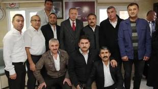 Erdoğan'dan taksi durağına sürpriz ziyaret