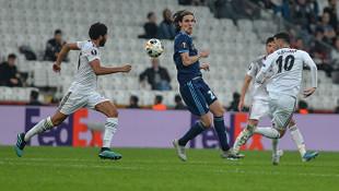 Beşiktaş Slovan Bratislava'yı uzatmalarda geçti