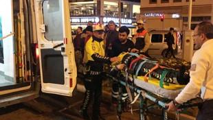 Aynı trafik canavarı yine ortaya çıktı: 1 Polis yaralı