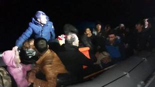 136 sığınmacı daha ölüm yolculuğunda yakalandı