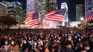 Asya'da Trump'a teşekkür mitingi