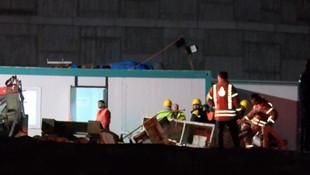 Başakşehir'de metro inşaatında göçük: 1 işçi hayatını kaybetti