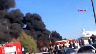 İstanbul'da korku dolu anlar Bebek Sahili'nde lüks teknede yangın