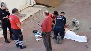Antalya'da Rus kadının feci ölümü !