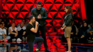 O Ses Türkiye yarışmasında sahnede evlilik teklifi
