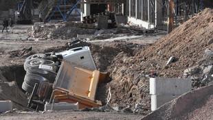 Öğrenci yurdu inşaatında dehşet!