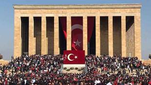 Anıtkabir'de ekim rekoru kırıldı