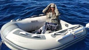 Ege Denizi'nde inanılmaz kurtuluş