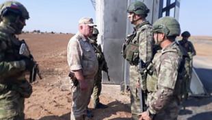 Türk ve Rus askerlerinden ikinci ortak devriye
