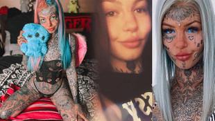 Gözüne dövme yaptıran genç kız geçici körlük yaşadı