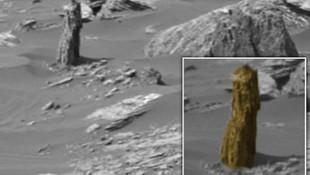 Curiosity'nin Mars'tan gönderdiği bu fotoğraf olay oldu