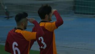 G.Saray Real Madrid'i ezdi geçti! Asker selamı...