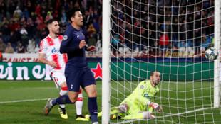 Kızılyıldız 0-4 Tottenham (UEFA Şampiyonlar Ligi)