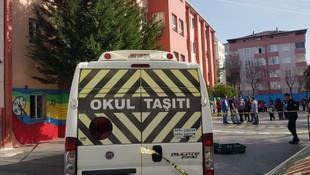 İstanbul'da okul bahçesinde dehşet! Servis aracı öğrenciyi ezdi
