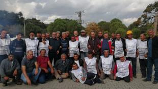 Zafer Soma'daki maden işçilerinin oldu