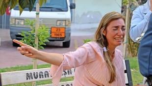 Taksici ve turist birbirine girdi: Gözyaşlarına boğuldu