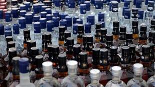 Tekirdağ'da 7 ton sahte içki ele geçirildi