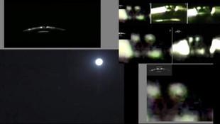 Marmara Denizi üstünde görülen UFO olay oldu