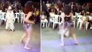 Sünnet düğünündeki erotik dans rezaletinde aile dansçıları suçladı