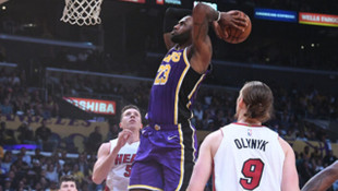 Los Angeles Lakers'tan üst üste 7. galibiyet