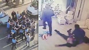 Kocaeli'de skandal görüntüler ! Zabıtalar tekme tokat dövdü