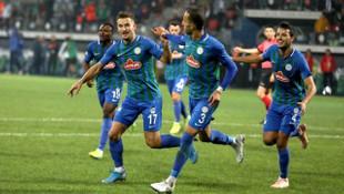 Çaykur Rizespor 1 - 0 Antalyaspor (Spor Toto Süper Lig)