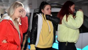 Otel odasına fuhuş baskını ! Üniversiteli kızlar da gözaltına alındı