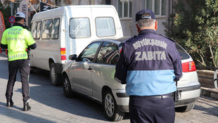 Polis ve zabıtadan ortak trafik denetimi