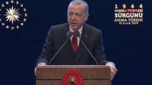 Cumhurbaşkanı Erdoğan tepki gösterdi ''Bu bir rezalettir''