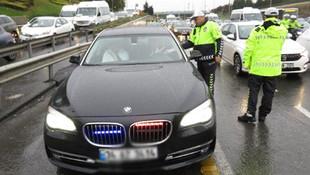 Cumhurbaşkanlığı'ndan ''çakarlı araç'' açıklaması