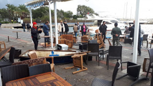Hortum Bodrum'u vurdu! Tatil cenneti savaş alanına döndü