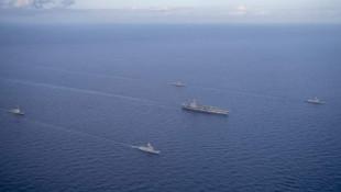 Doğu Akdeniz'de Türkiye ile ABD ile ortak tatbikat