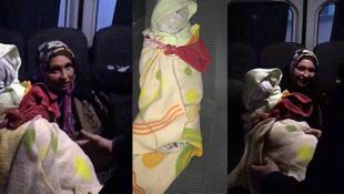Dilencinin kucağındaki bebek bakın ne çıktı!