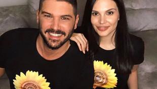 Tolgahan Sayışman'dan Almeda Abazi'ye romantik kutlama
