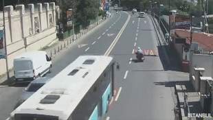 Beşiktaş'ta korkunç kaza