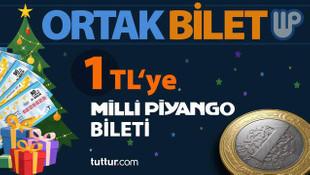 Türkiye'de bir ilk! 1 TL'ye Milli Piyango bileti