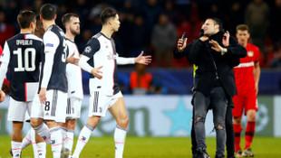 Maç bitti ortalık karıştı! Ronaldo'dan sert tepki