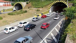 Yolda olanlar dikkat ! Bolu Dağı Tüneli çift yönlü kapatıldı