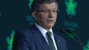 Davutoğlu'ndan Gelecek Partisi toplantısında dikkat çeken açıklama
