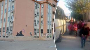 Cinayete davet! 17 kişilik öğrenci servisinden 34 öğrenci çıktı!