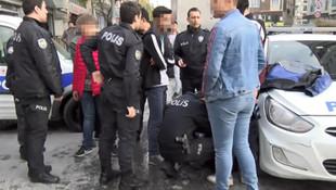 Esenyurt'ta dehşet saçan 6 liseli gözaltında