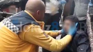 Kahrolduk: İşsiz vatandaş elinde bebek beziyle açlıktan bayıldı