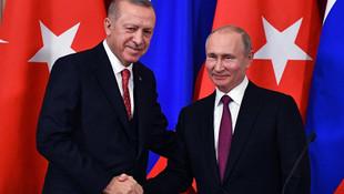 Erdoğan ve Putin arasında kritik görüşme !