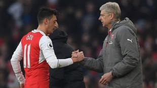 Arsene Wenger'den Mesut Özil'e destek