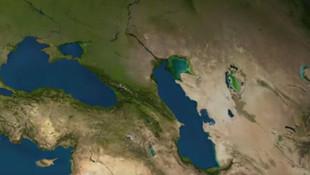 NASA'nın paylaştığı harita korkunç gerçeği gözler önüne serdi