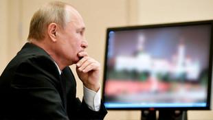 Putin'in bilgisayarı olay oldu !