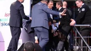 Kılıçdaroğlu'nun katıldığı törende hareketli anlar !